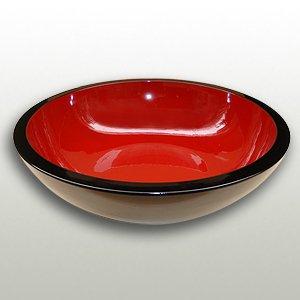 厚口1尺7寸漆塗こね鉢