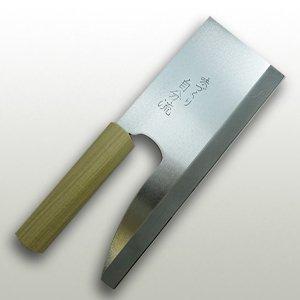 【右用】ステンレス鋼(白木柄) 240mm
