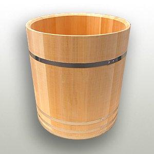 こね鉢下台 サワラ材木鉢下 600mm