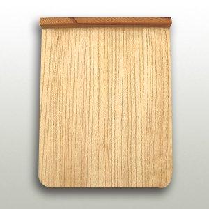 桐の本体と欅の立ちの小間板 巾270mm・奥330mm・高27mm