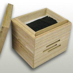 クリアコーティング仕上げ 焼き海苔箱(炭別売り)