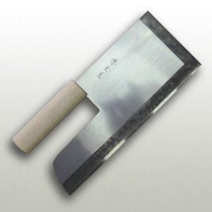 【右用】磨き安来鋼(鮫皮木柄) 330mm 金重作