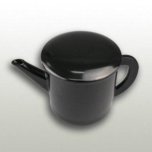 丸湯筒黒色 容量540cc