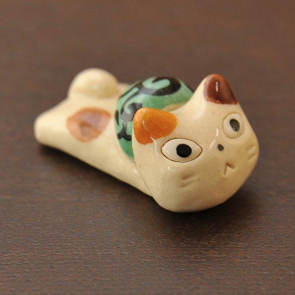 手造り どろぼう猫の箸置き