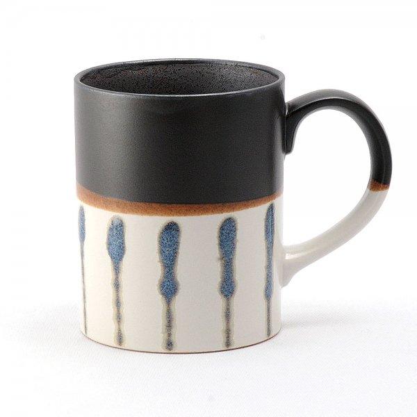 雲陶園 セパレートカラー マグカップ 縦ライン