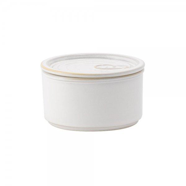 雲陶園 CAN詰め 缶詰キャニスター ふた付き ホワイト