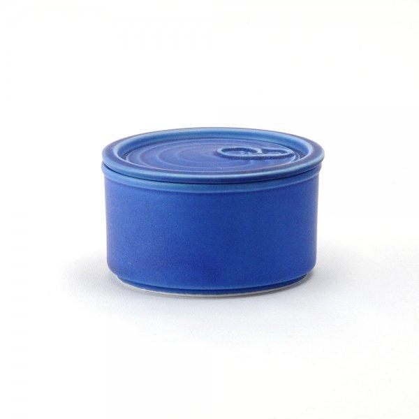 雲陶園 CAN詰め 缶詰キャニスター ふた付き ロイヤルブルー