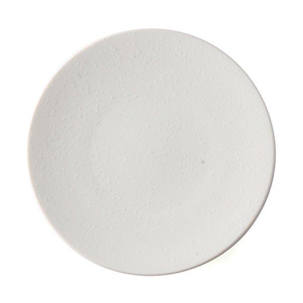 雲陶園 15.5cmオイルドロッププレート マットホワイト