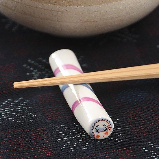金太郎飴(ひょっとこ)箸置き