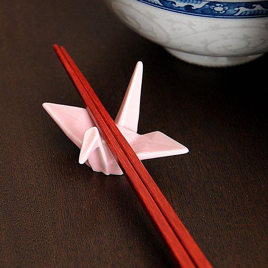 折り鶴(ピンク)箸置き