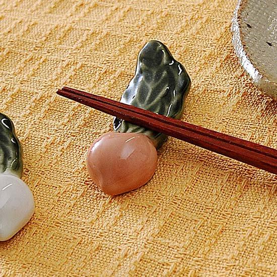 かぶら(オレンジ)の箸置き