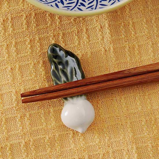 かぶら(白)の箸置き