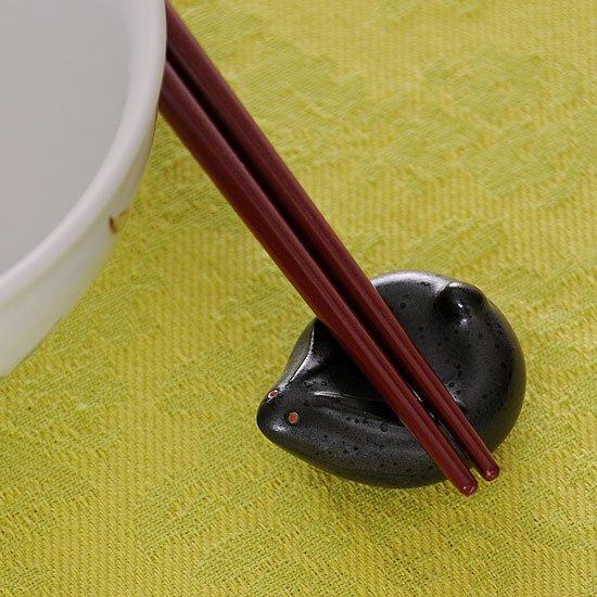 福うさぎ(黒)箸置き