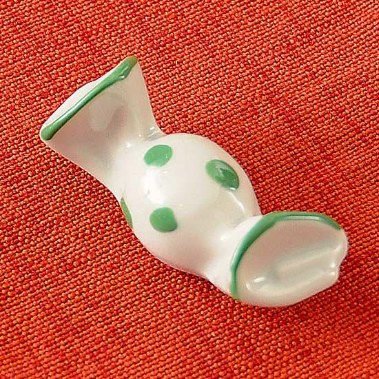 キャンディ(緑)の箸置き