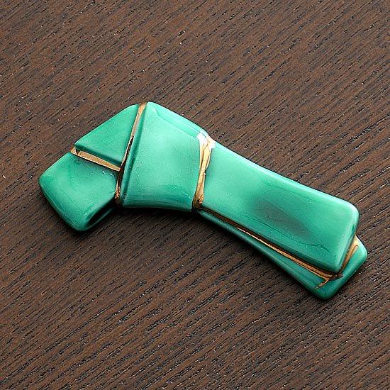 グリーン結びの箸置き
