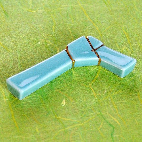 青磁結びの箸置き