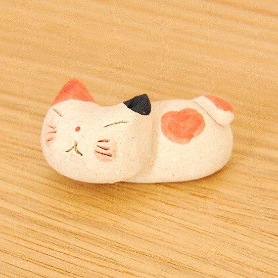手造り猫(三毛)の箸置き
