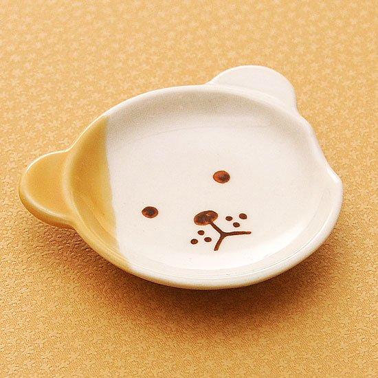 皿型アニマルフェイス(イヌ)