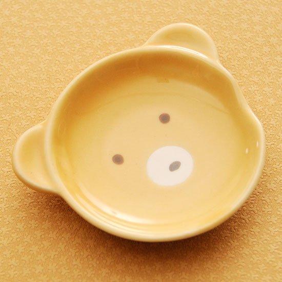 皿型アニマルフェイス(クマ)