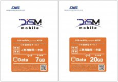 DIS mobile powered by KDDI 年間パック
