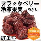(冷凍)青森県産 ブラックベリー冷凍果実(つぶし)[樋口さん]