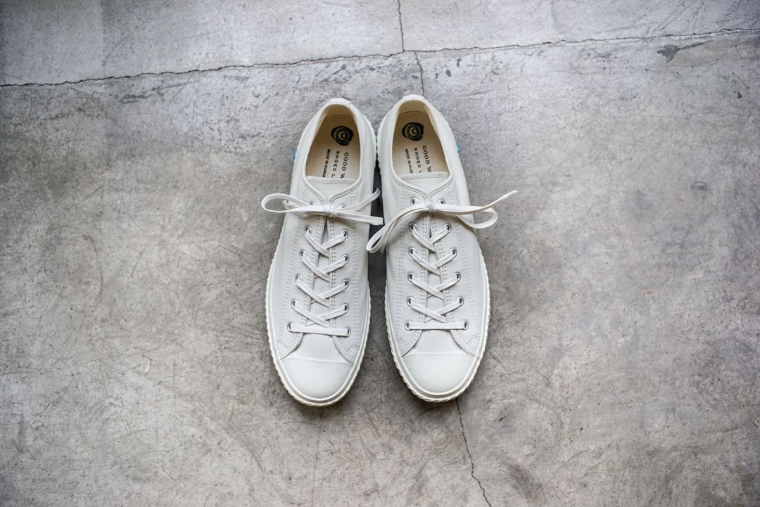 SHOES LIKE POTTERY - LEATHER WHITE