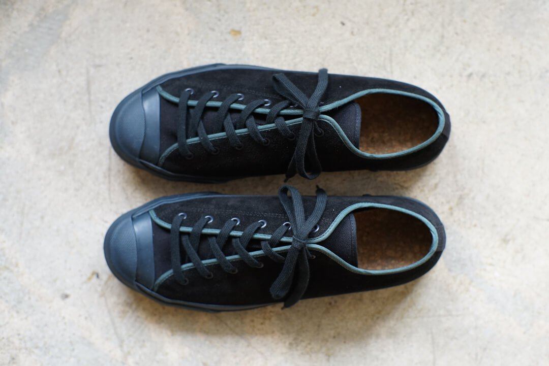 DOEK SHOE INDUSTRIES / COURT - BLACK TEAL