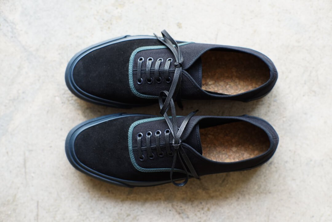 DOEK SHOE INDUSTRIES / OXFORD - BLACK TEAL