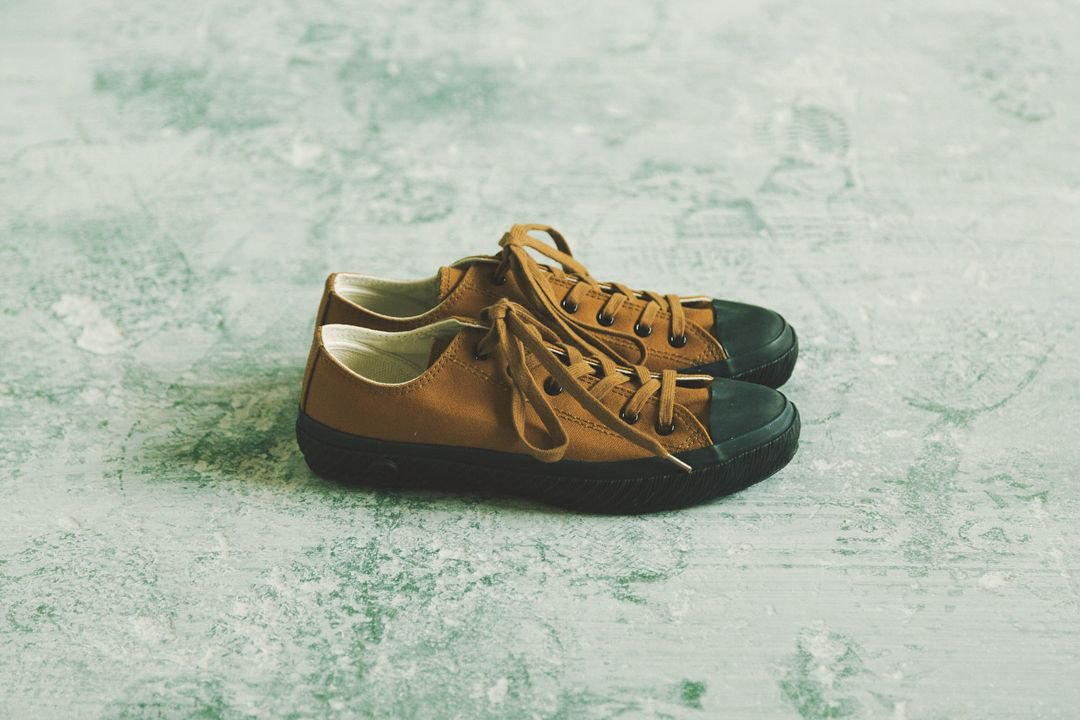 SHOES LIKE POTTERY - VULCANIZED CLOTH BROWN