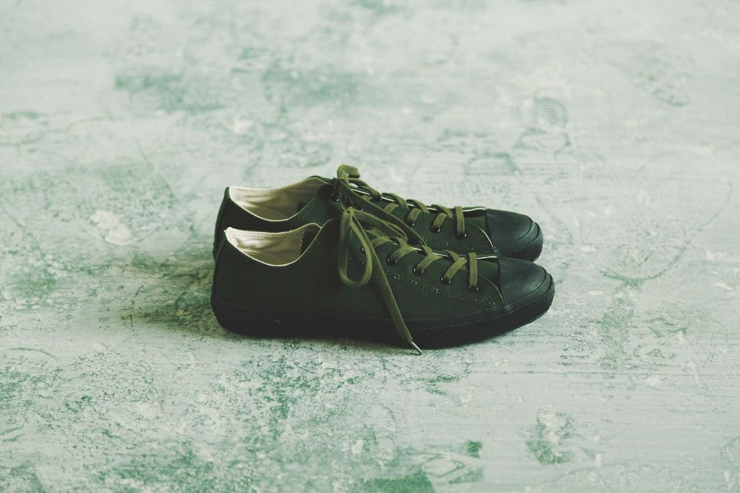 SHOES LIKE POTTERY - VULCANIZED CLOTH OLIVE