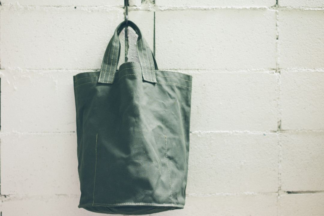 VULCANIZED CLOTH TOTE - 30L