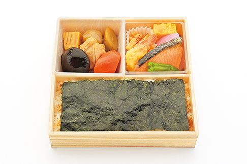 濱田屋の海苔弁当