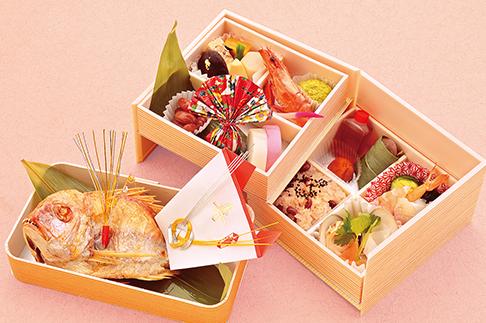 お食い初めセット(折詰め)