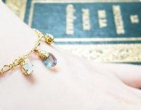 【サフィレット&スワロフスキー】魔法の国の宝石 オーバルS/ブレスレット