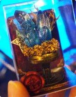 【魔法雑貨タネピリカ】夜光鉱石の箱庭(星の夜光鉱石標本)/オブジェ