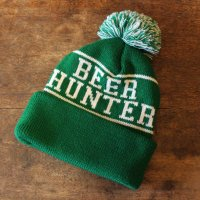 <img class='new_mark_img1' src='//img.shop-pro.jp/img/new/icons50.gif' style='border:none;display:inline;margin:0px;padding:0px;width:auto;' />BEER HUNTER POM-POM BEANIE CAP<br>TACOMA FUJI RECORDS [タコマフジレコーズ]