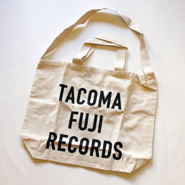TACOMA FUJI RECORDS LETTER PRINT TOTE TACOMA FUJI RECORDS [タコマフジレコーズ]