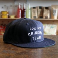 <img class='new_mark_img1' src='//img.shop-pro.jp/img/new/icons7.gif' style='border:none;display:inline;margin:0px;padding:0px;width:auto;' />GOOD BEER DRINKING TEAM CAP NAVY<br>TACOMA FUJI RECORDS [タコマフジレコード]