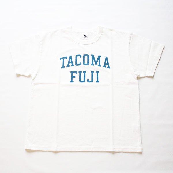 TACOMA FUJI RECORDS COLLGE LOGO WHITE...