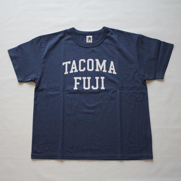 TACOMA FUJI RECORDS COLLGE LOGO NAVYT...