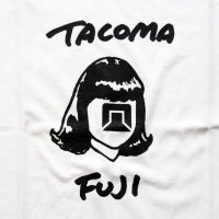 TACOMA FUJI HANDWRITING LOGO WHITE<br>TACOMA FUJI RECORDS タコマフジレコード