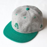 <img class='new_mark_img1' src='https://img.shop-pro.jp/img/new/icons16.gif' style='border:none;display:inline;margin:0px;padding:0px;width:auto;' />2 TONE TACOMA LOGO CAP GREEN<br>TACOMA FUJI RECORDS タコマフジレコード
