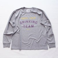 <img class='new_mark_img1' src='https://img.shop-pro.jp/img/new/icons16.gif' style='border:none;display:inline;margin:0px;padding:0px;width:auto;' />HAPPY HOUR DRINKING TEAM LS shirt<br>TACOMA FUJI RECORDS タコマフジレコード