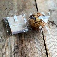 国産柚子ピールとバタークリームのヴィクトリアケーキ , モカチーズマフィン / zilch studio