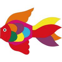 Tropical Fish Windsock Red 50<br>INVENTO/インベント Windspiration [Other]