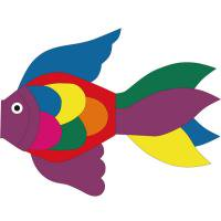 Tropical Fish Windsock Rainbow 50<br>INVENTO/インベント Windspiration [Other]