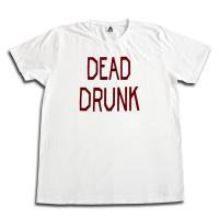 <img class='new_mark_img1' src='//img.shop-pro.jp/img/new/icons50.gif' style='border:none;display:inline;margin:0px;padding:0px;width:auto;' />DEAD DRUNK WHITE TEE<br>TACOMA FUJI RECORDS [タコマフジレコーズ]
