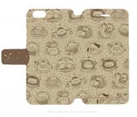 手帳型iPhone6ケース エコペン星座柄