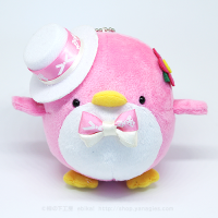 おめかしエコペンピンク(白帽子ピンクリボン)