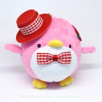 おめかしエコペンピンク(赤帽子赤チェック)